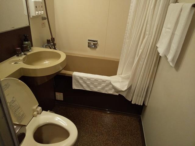 ホテルクラウンヒルズ姫路 バスルーム