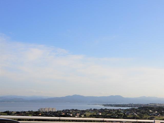 江島大橋の頂上からの眺め2