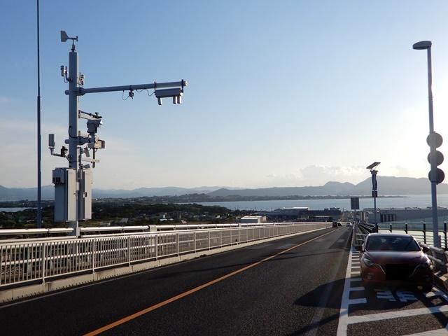 江島大橋 非常停止帯