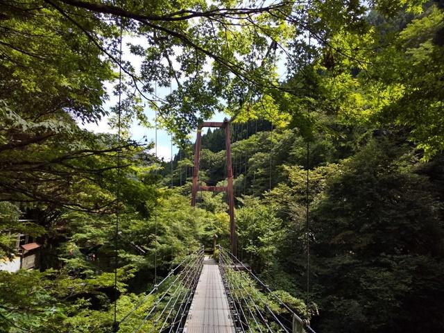 吊り橋(かえでばし)