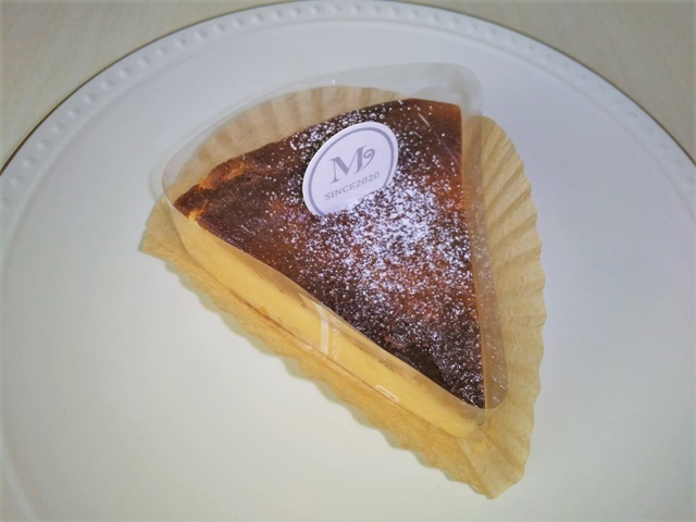 パティスリーM バスクチーズケーキ