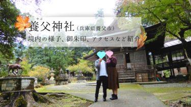 【養父神社】紅葉の名所・歴史ある但馬国の大社に行ってきました
