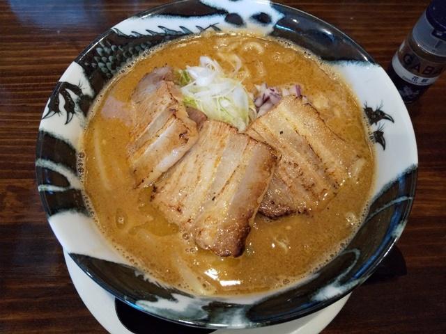 麺や樂 味噌