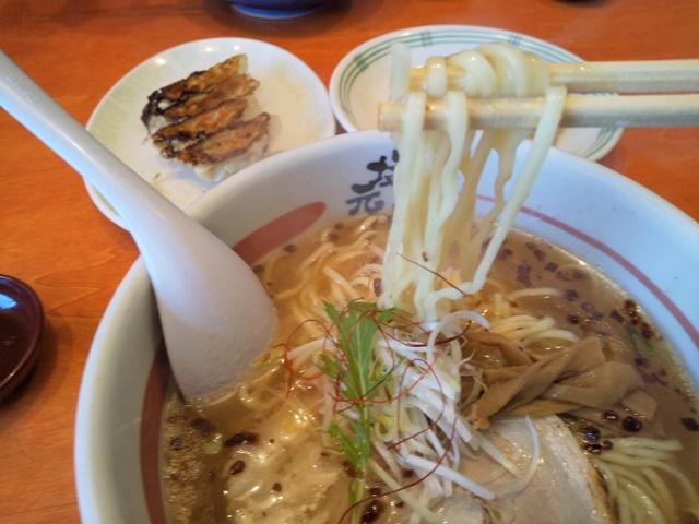 塩元帥の麺