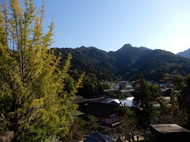 豊国神社からみる厳島神社