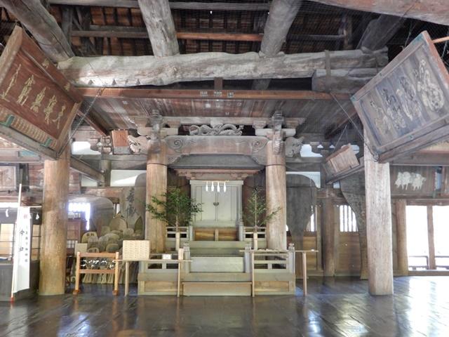 豊国神社(千畳閣)の御神座