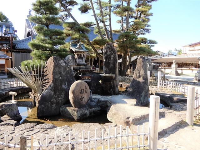 大願寺 龍神様の池