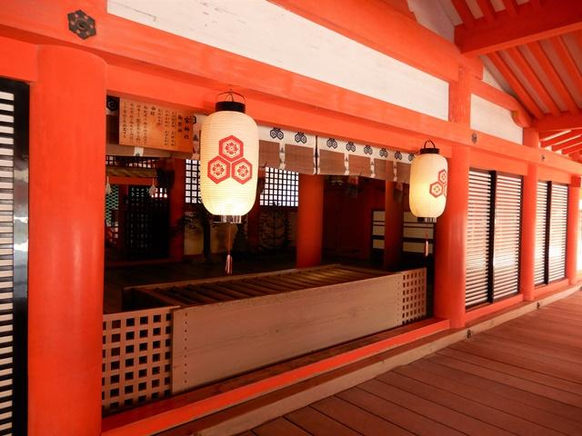 厳島神社 客神社