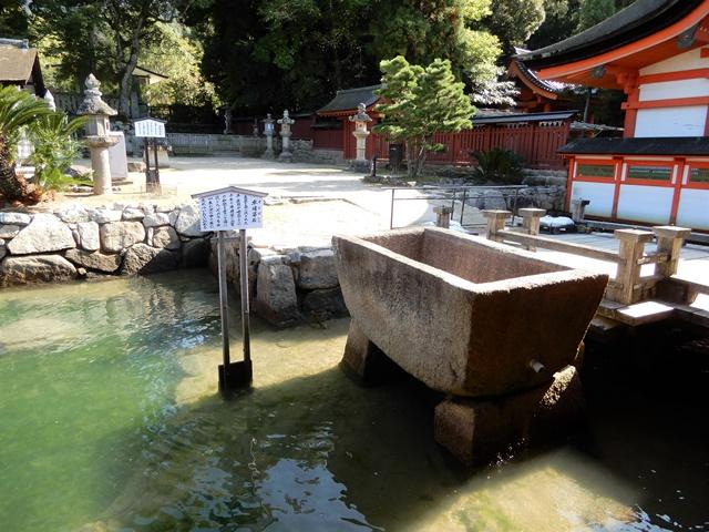 厳島神社 卒塔婆石