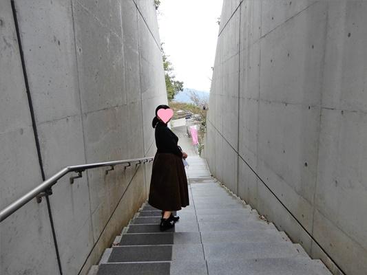 亀老山 階段