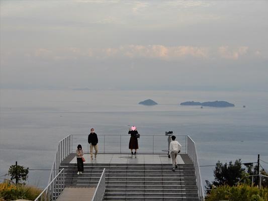 亀老山 展望台2