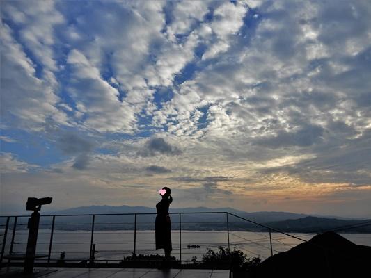 亀老山 展望台