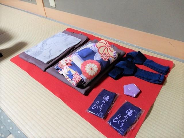 城崎温泉 三國屋の着物