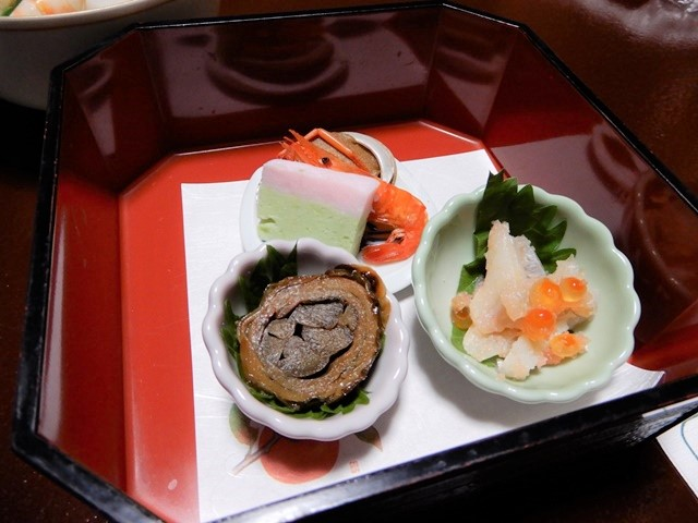 城崎温泉 三國屋の夕食
