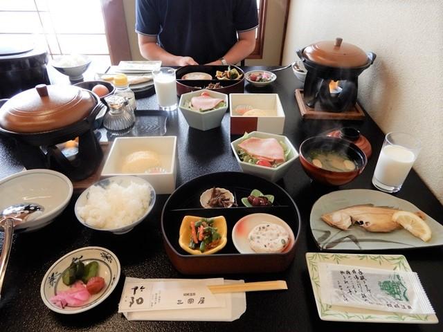 城崎温泉 三國屋の朝食