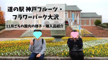 道の駅 神戸フルーツ・フラワーパーク大沢でお散歩デート!11月上旬の様子を紹介します