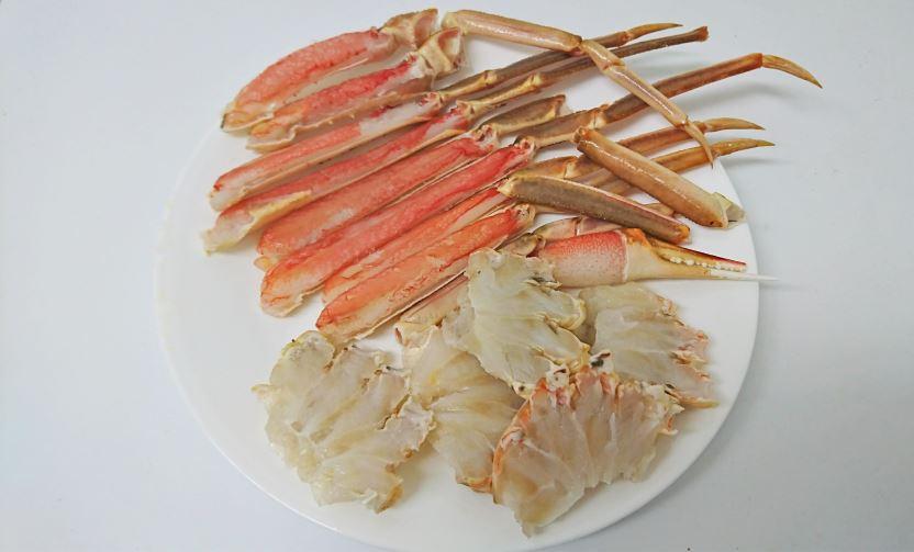 ずわい蟹 解凍