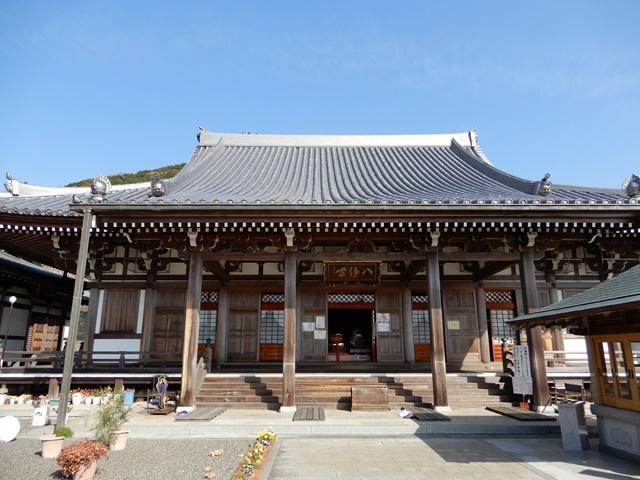八浄寺(淡路島)の本堂