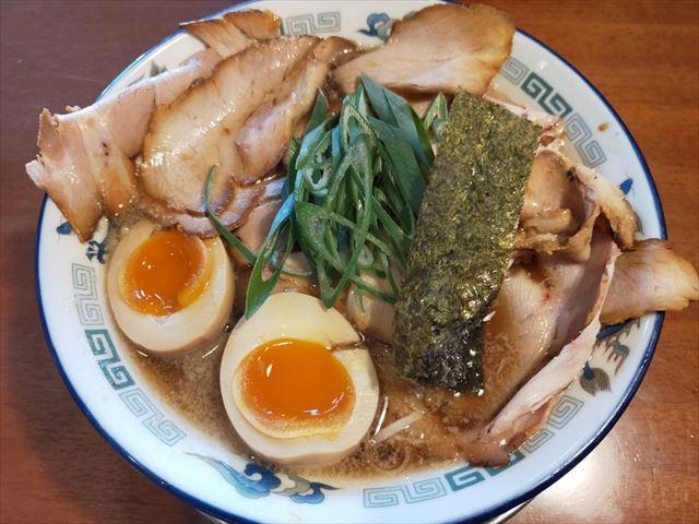 もんど チャーシュー麺