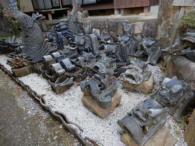 温泉寺 鬼瓦