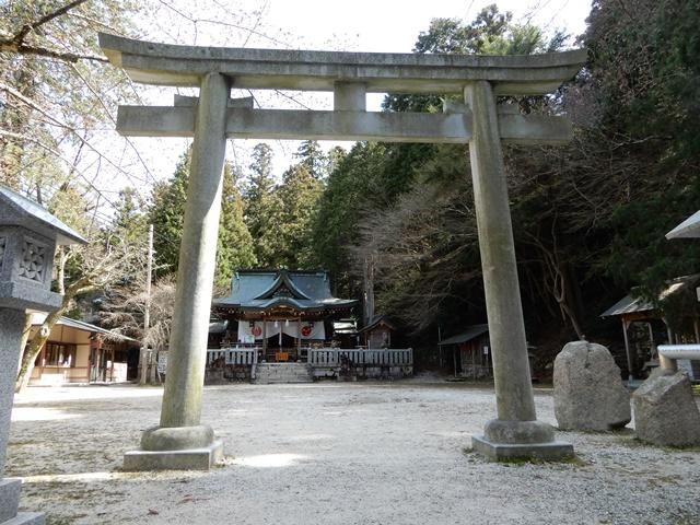 湯泉神社 鳥居