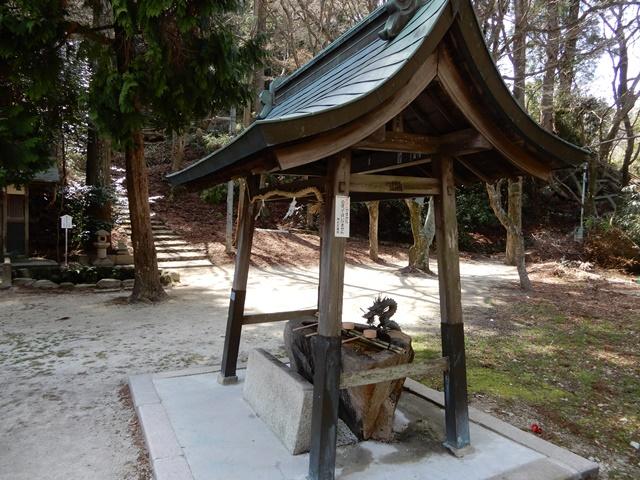湯泉神社 手水舎