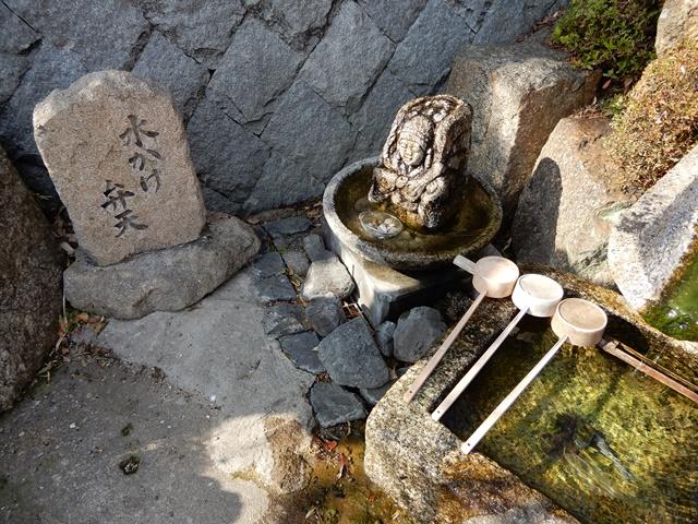 智禅寺 水かけ弁天
