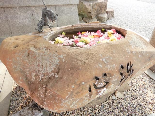 護国寺 手水舎
