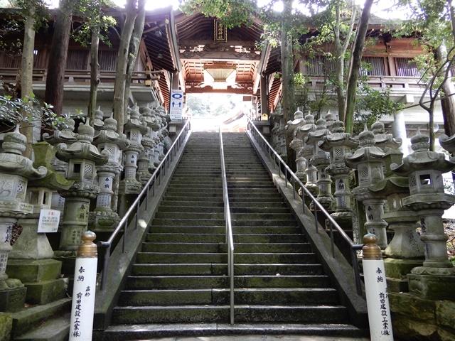 鹿嶋神社 石段