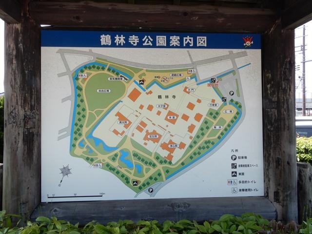 鶴林寺 境内図