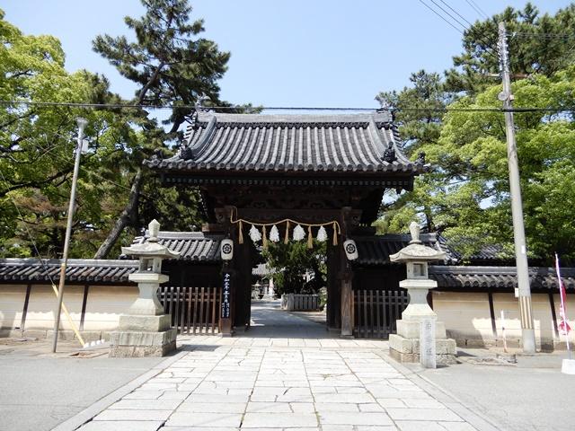 高砂神社 表門