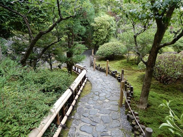 鈴虫寺 庭