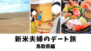 【新米夫婦のデート旅】日帰りで鳥取県を観光!コナン空港、鳥取砂丘、旬のイカを食べる