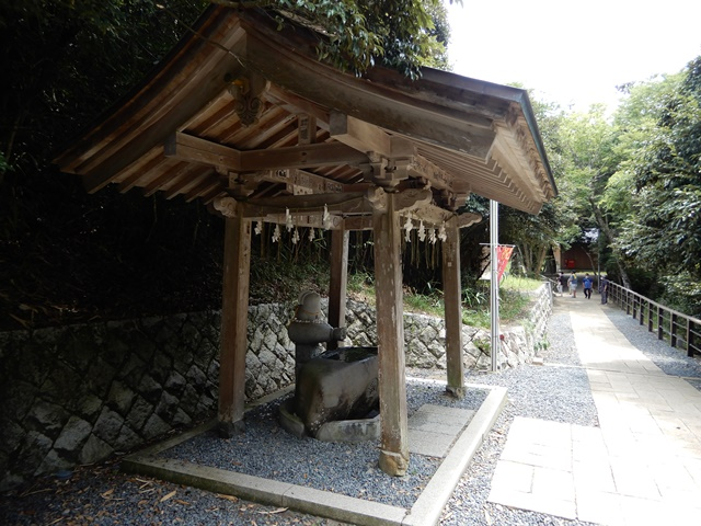 白兎神社 手水舎