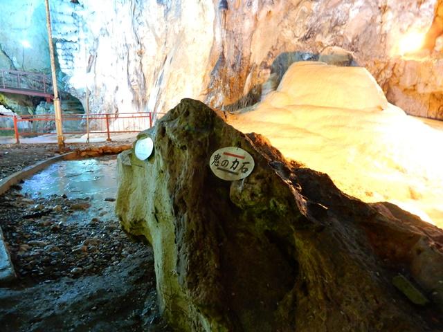鬼の力石と洞内富士