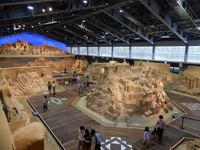 鳥取砂丘 砂の美術館 回廊