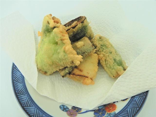 岩津ねぎの天ぷら
