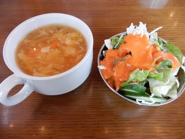 ポニーズカフェ スープとサラダ